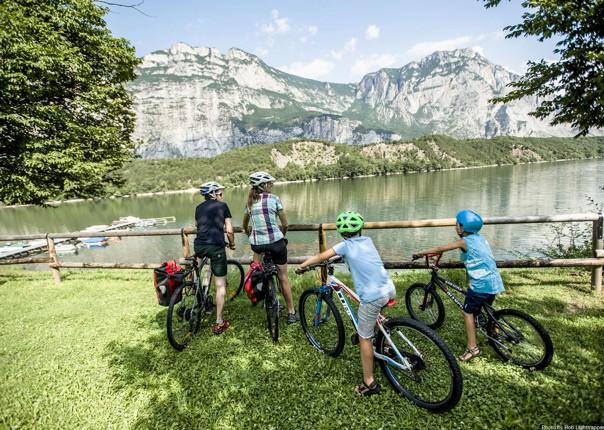 mountains-lake-garda-italy-family-cycling-holiday.jpg - Italy - Lake Garda Explorer - Self-Guided Family Cycling Holiday - Family Cycling