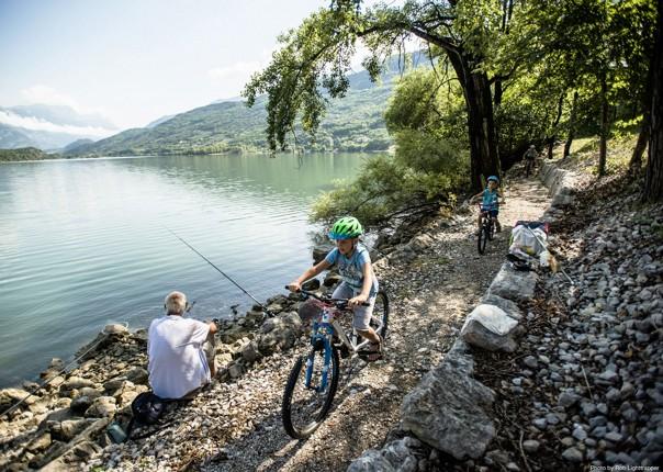 lake-garda-cycleway-italy-family-holiday.jpg - Italy - Lake Garda Explorer - Self-Guided Family Cycling Holiday - Family Cycling