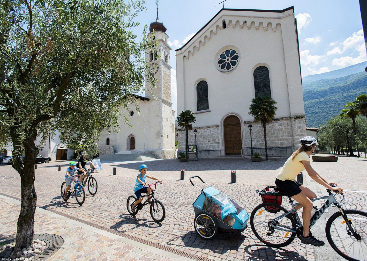 italy-family-cycling-holiday-lake-garda.jpg - Italy - Lake Garda Explorer - Self-Guided Family Cycling Holiday - Family Cycling