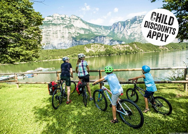 Italy - Lake Garda Explorer - Self-Guided Family Cycling Holiday Image