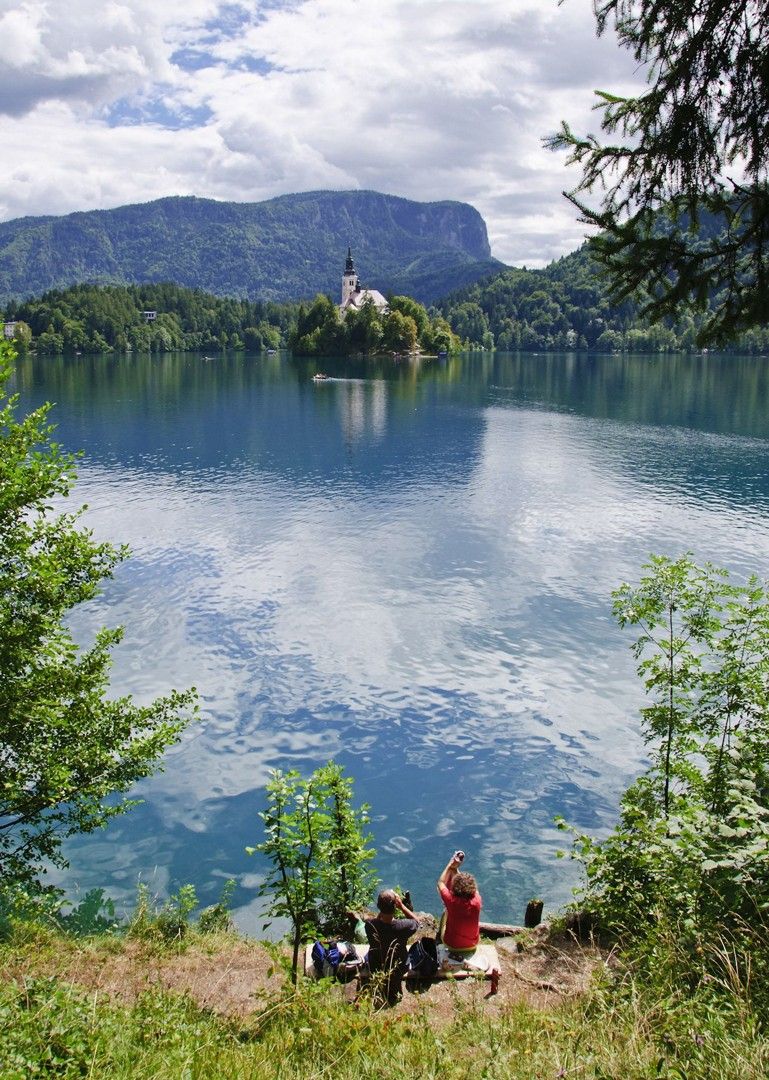 julian-alps-lake-bled-slovenia-family-cycling-holiday.jpg - Slovenia - Magical Lake Bled - Self-Guided Family Cycling Holiday - Family Cycling