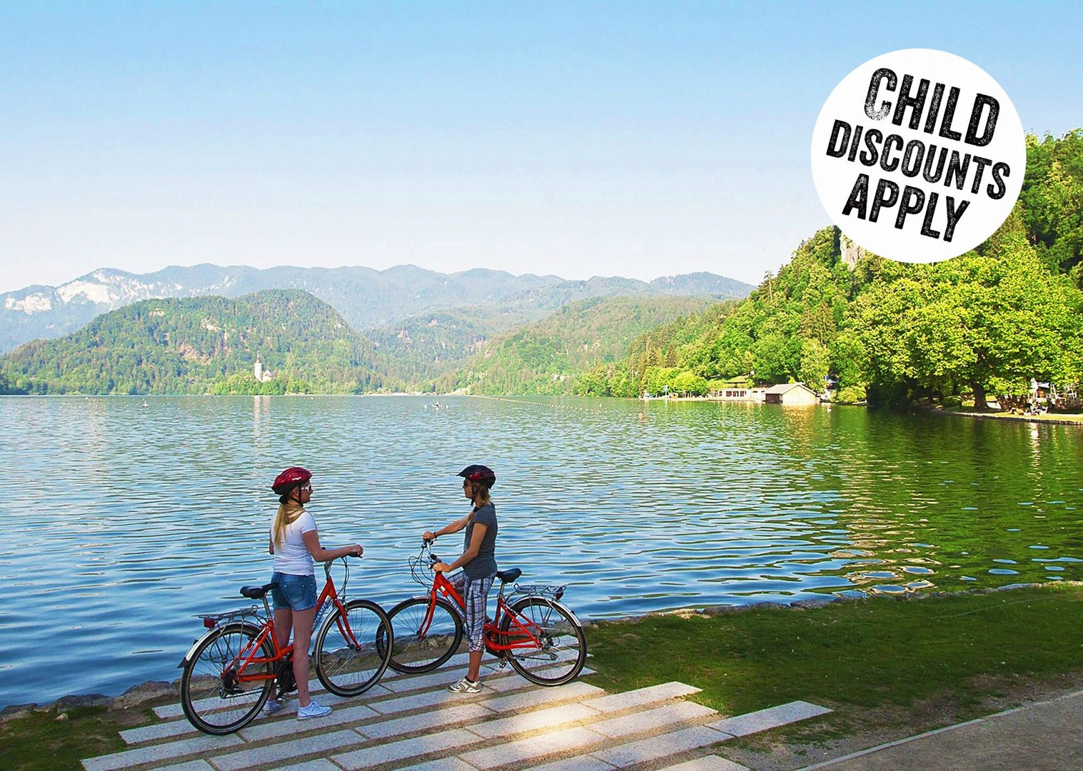 led-castle-self-guided-family-cycling-holiday-slovenia-magical-lake-bled.jpg - NEW! Slovenia - Magical Lake Bled - Family Cycling