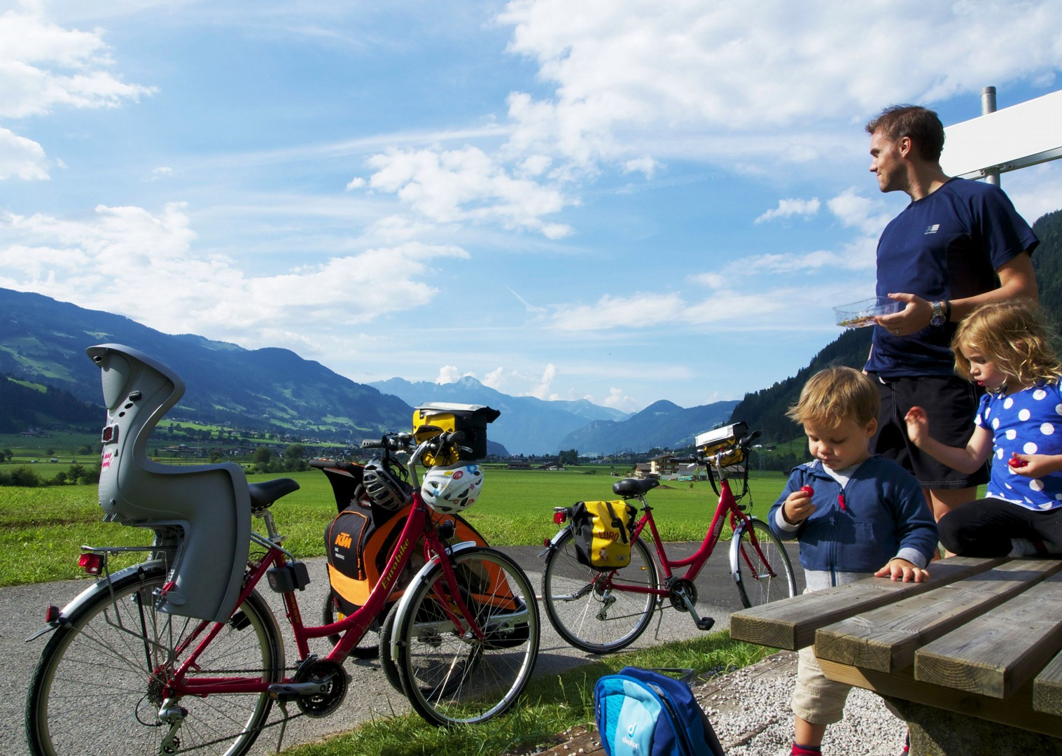 european-cycling-family-holiday-skedaddle.jpg - NEW! Austria - Tauern Valleys - Self-Guided Family Cycling Holiday - Family Cycling