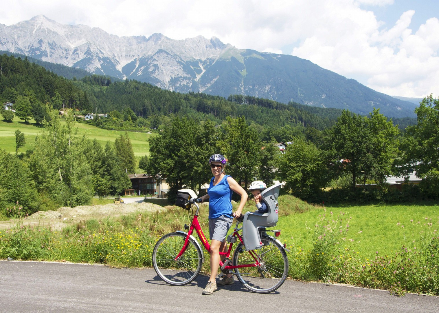 young-child-austrian-cycling-holiday-valleys.jpg - NEW! Austria - Tauern Valleys - Self-Guided Family Cycling Holiday - Family Cycling