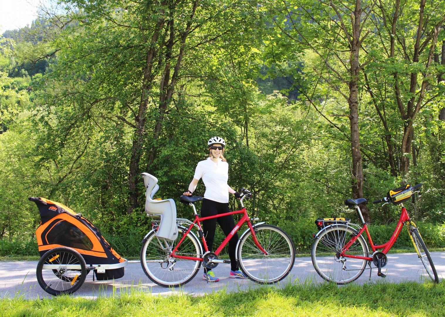 cycling-for-all-the-family-children-bikes-austria-tauern-valleys.jpg - NEW! Austria - Tauern Valleys - Self-Guided Family Cycling Holiday - Family Cycling