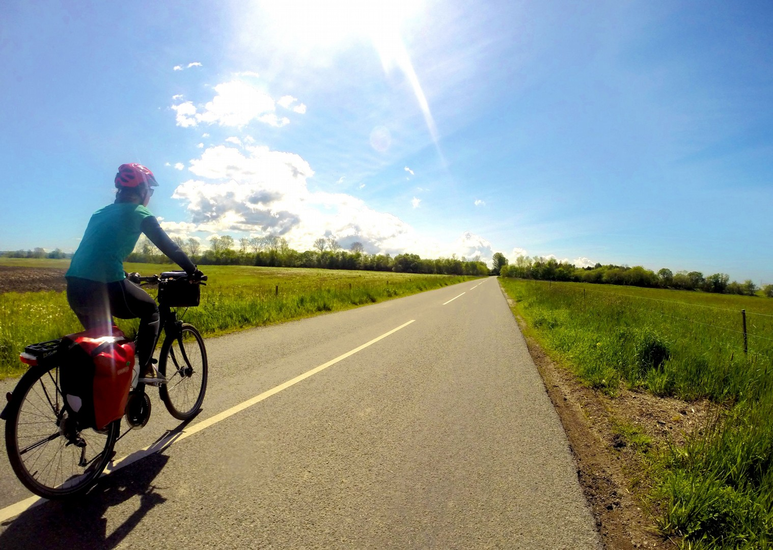 denmark-parents-cycling-flat-roads-family-skedaddle.jpg - Denmark - Zooming Through Zealand - Self-Guided Family Cycling Holiday - Family Cycling