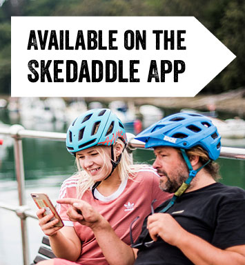 Available on the Skedaddle App