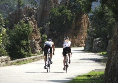 corsicaroad.jpg - France - Corsica - The Beautiful Isle - Road Cycling