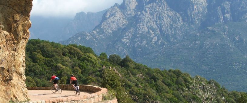 Sublime road cycling on the stunning French island of Corsica. Choose either our Beautiful Isle or Southern Secrets Corsica road tours. Which ever tour you plump for, you'll not be disappointed!
