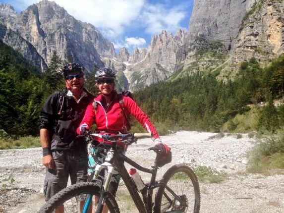 Italy - Dolomites to Lake Garda - Mountain Bike Holiday Thumbnail