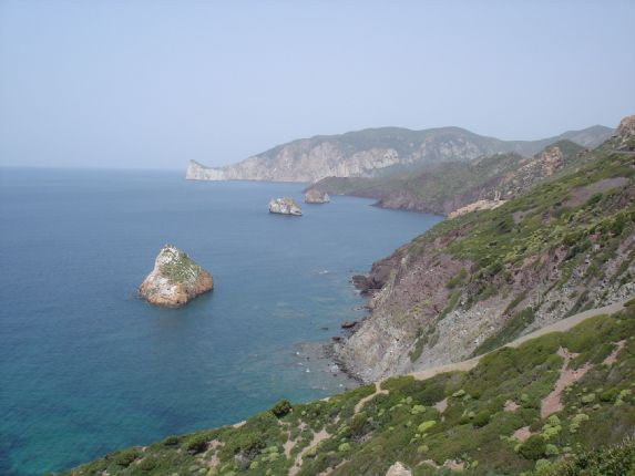 Island Flavours view.JPG - Sardinia - Island Flavours - Guided Cycling Holiday - Leisure Cycling