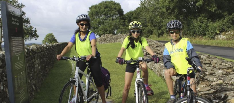 Explore the Hadrian's Cycleway on this coast to coast cycling trip and check out the Roman sites along the way. Perfect for those looking for cycling with a slice of history.
