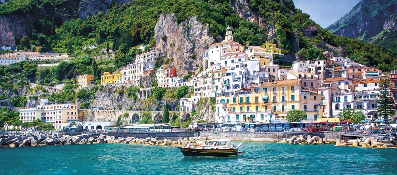 A view worth cycling for? Autumn is the perfect season to explore the dreamy Italian coast and what better region than the historically rich area of Amalfi. With a sensational vista around every corner, it's not hard to see why so many fall in love with this destination...