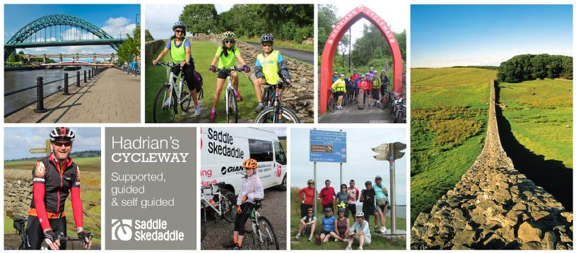 Looking for a challenge in 2015? Why not explore the iconic Hadrian's Wall for 72 miles of fascinating history, culture and stunning landscapes to boot! With a whole range of options to suit every type of cyclist, all you need to do is get on your bike and we'll sort the rest out.