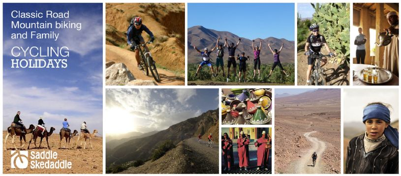 Morocco is a dream destination for those seeking something a little adventurous! Our fantastic range of cycling trips here are all aimed at exploring this unique and beautiful country. Choose from road cycling, mountain biking, family or easy paced Moroccan cycling holidays