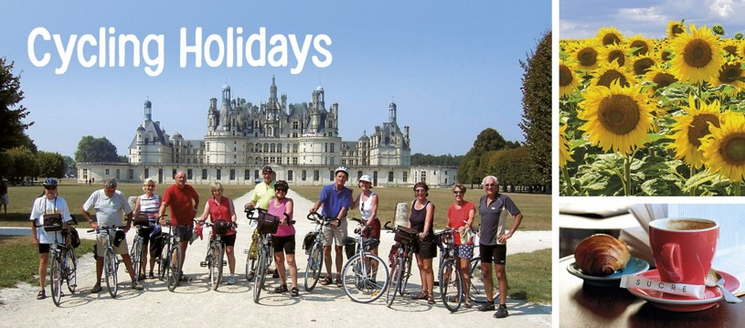 Join us in France on one of our popular cycling holidays in France. Choose from options in the Loire, Brittany, Burgundy, Provence, the Dordogne or cycle along the dramatic Atlantic Coast. With all holidays easily accessible from the UK, France makes the perfect choice for a leisurely cycling holiday.