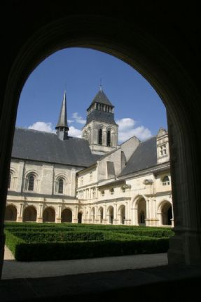 Abbaye de Fontevraud.jpg - France - Chateaux of the Loire - Leisure Cycling Holiday - Self Guided - Leisure Cycling