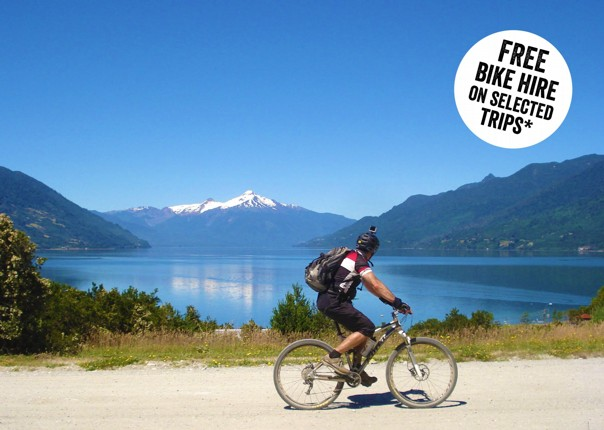 Chile and Argentina - Lake District - Cycling Holiday Thumbnail