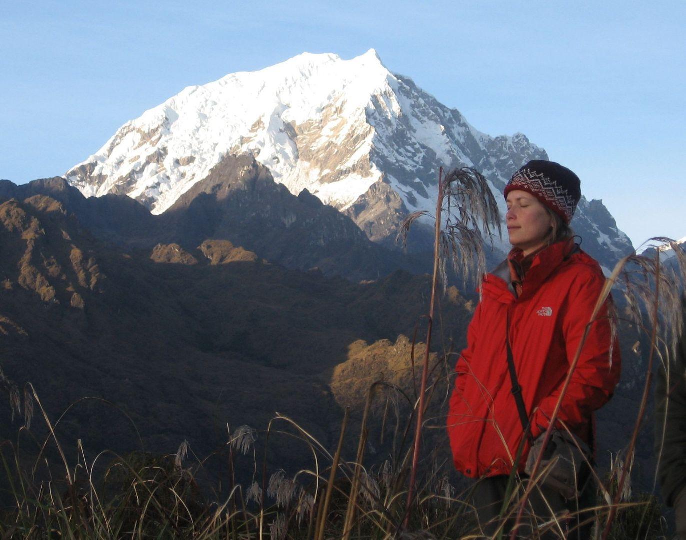 Salcantay sunrise Skedaddle Peru Andes, Amazon and Machu Picchu Biking Holiday.jpg - Peru - Andes, Amazon and Machu Picchu - Cycling Adventures