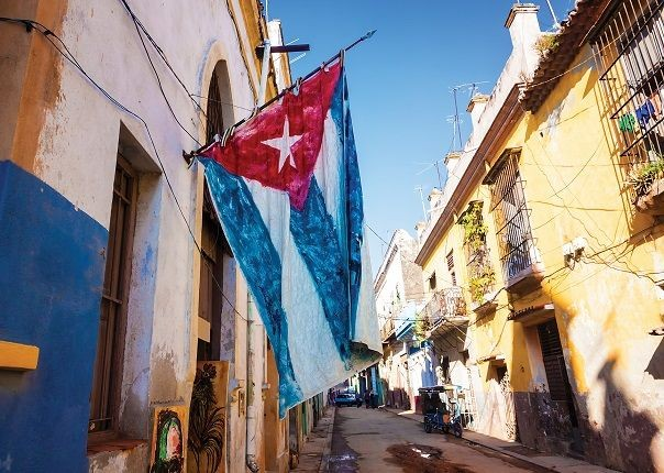 Cuba Flag.jpg - Cuba - Cuban Wheels - Cycling Adventures