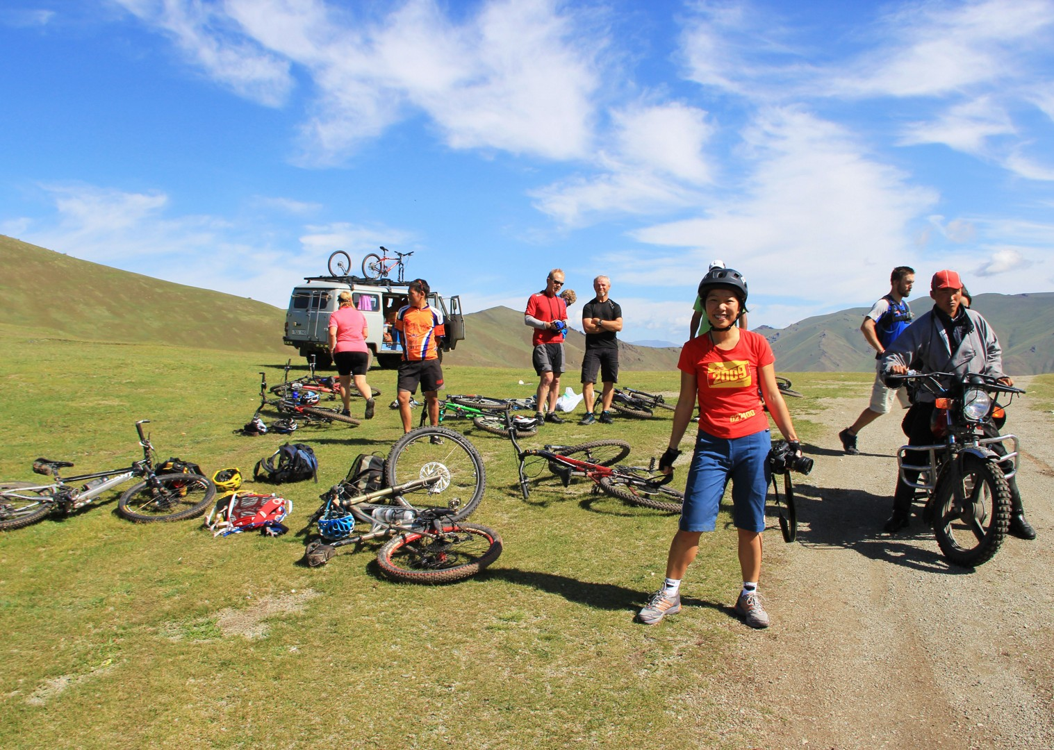 cycling-holiday-in-mongolia-orkhon-falls.jpg - Mongolia - Route of the Nomads - Cycling Holiday - Cycling Adventures
