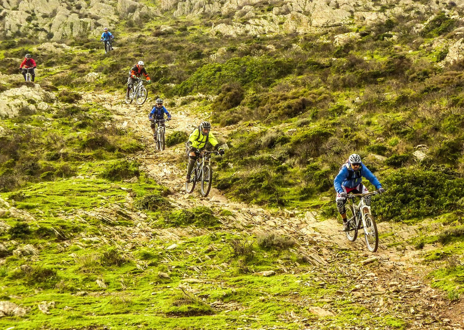 technical-downhill-descents-mountain-biking-italy-sardinia-tour.jpg - Sardinia - Coast to Coast - Mountain Biking