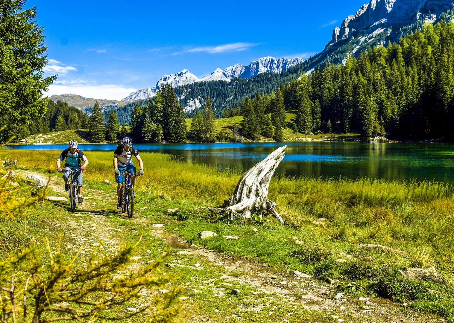 Brenta_Bike_2007_109-2.jpg - Italy - Dolomites of Brenta - Electric Mountain Bike Holiday - Mountain Biking