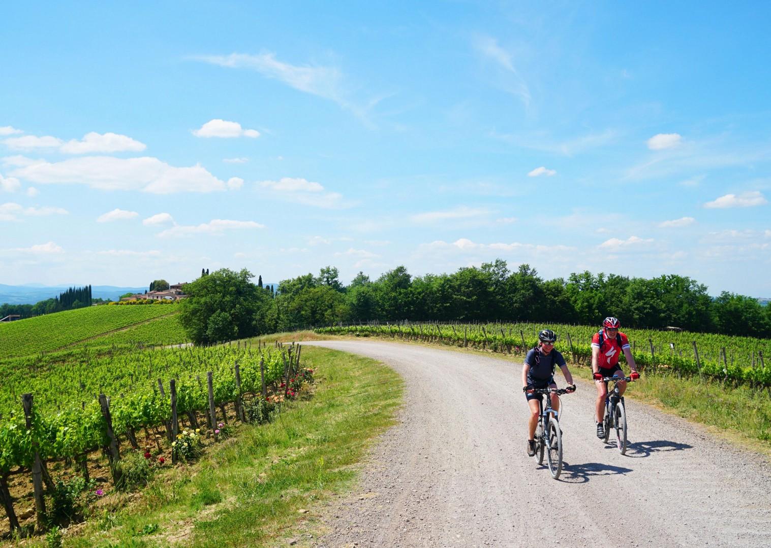 via-francigena-tuscany-to-rome-italian-mountain-bike-holiday.jpg - Italy - Via Francigena (Tuscany to Rome) - Self-Guided Mountain Bike Holiday - Mountain Biking