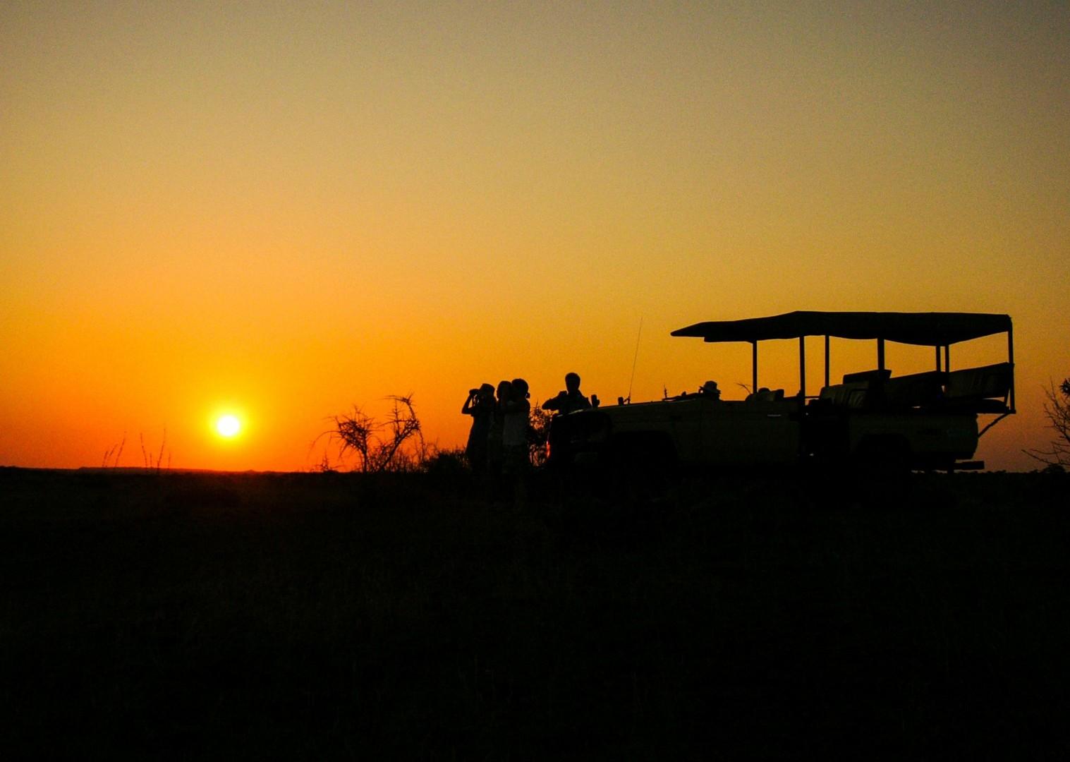 sunset-south-africa-and-botswana-trip-mountain-bike-holiday.jpg - NEW! South Africa and Botswana - Mountain Biking