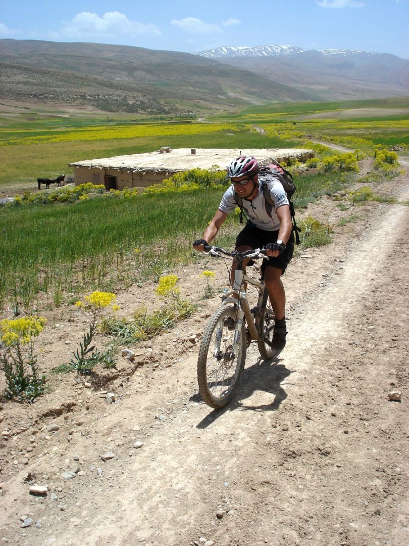 Morocco - High Atlas Traverse - Guided Mountain Bike Holiday - Mountain Biking