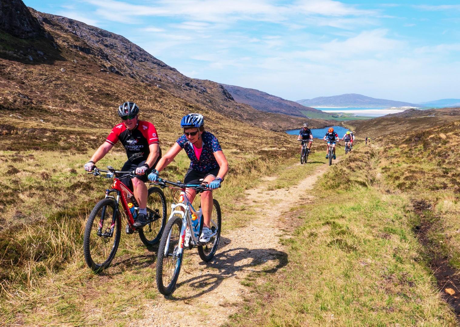 group-rural-mountain-biking-holiday-in-outer-hebrides-scotland.jpg - Scotland - Hebridean Explorer - Guided Mountain Bike Holiday - Mountain Biking