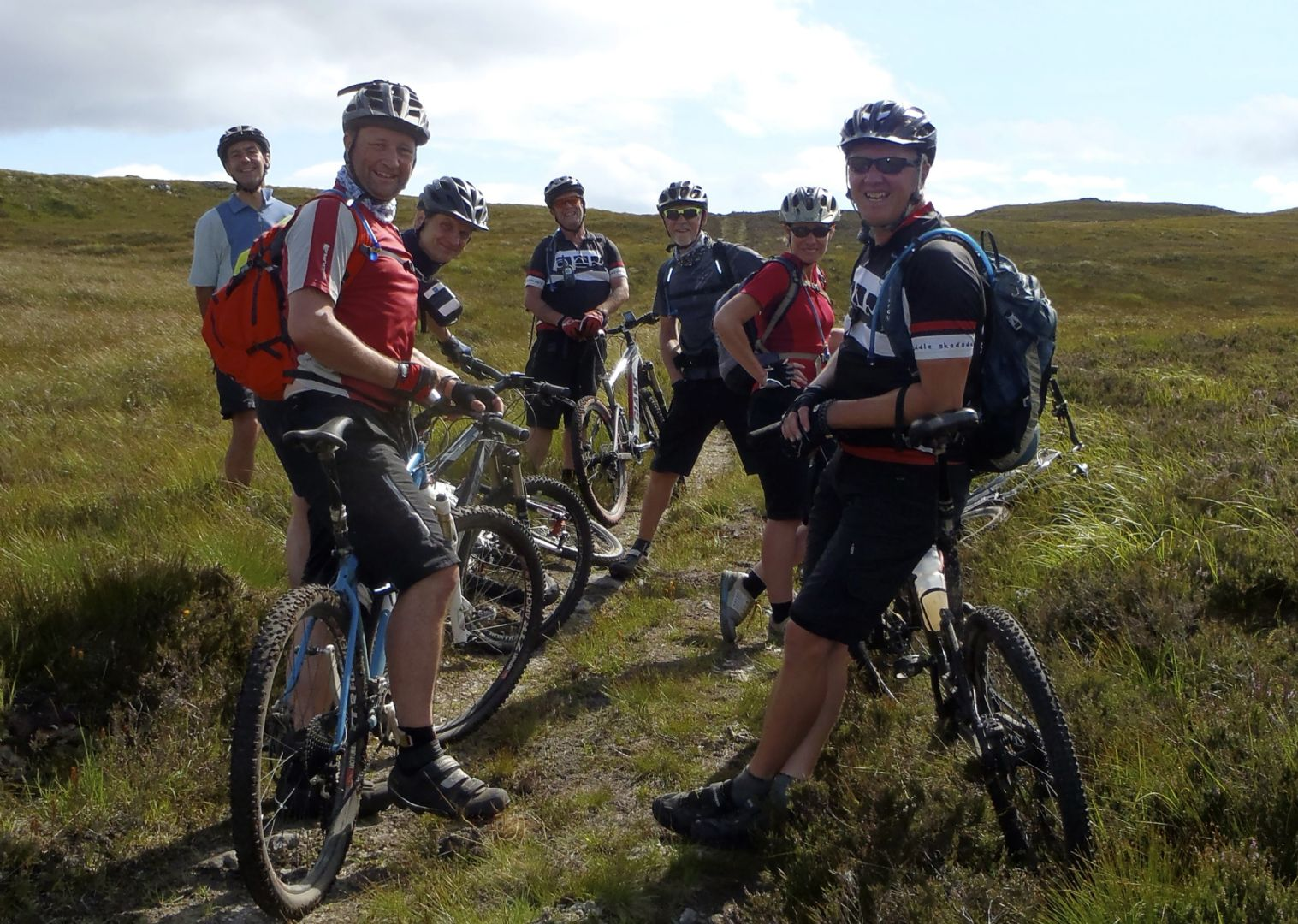 scottish-coast-to-coast-highlands-group-cycling-holiday.jpg - Scotland - Celtic Crossing - Guided Mountain Bike Holiday - Mountain Biking
