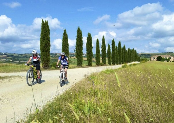 Italy - Tuscany - Sacred Routes - Guided Mountain Bike Holiday Image