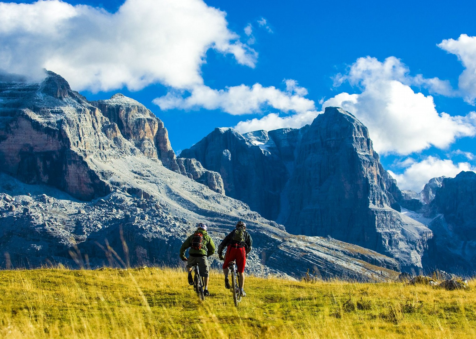 Brenta_Bike_2007_227-2.jpg - Italy - Dolomites of Brenta - Guided Mountain Bike Holiday - Mountain Biking