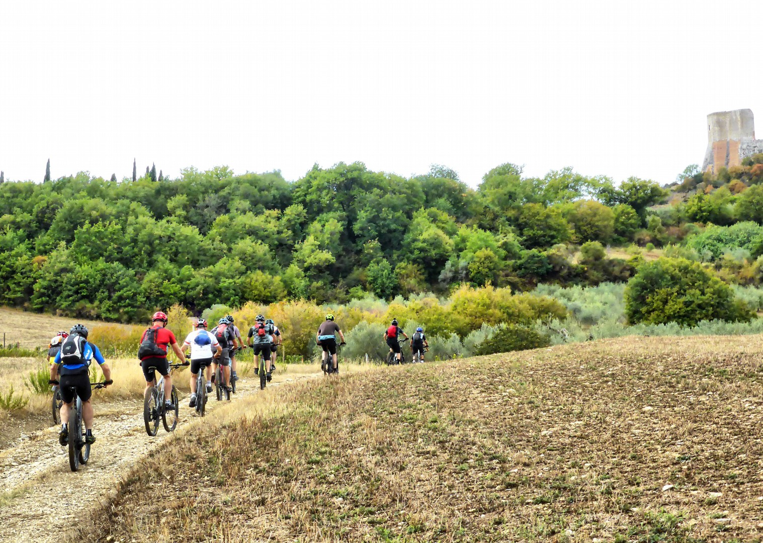 Foto 11-09-17, 12 17 15.jpg - Italy - Via Francigena (Tuscany to Rome) - Guided Mountain Biking Holiday - Mountain Biking