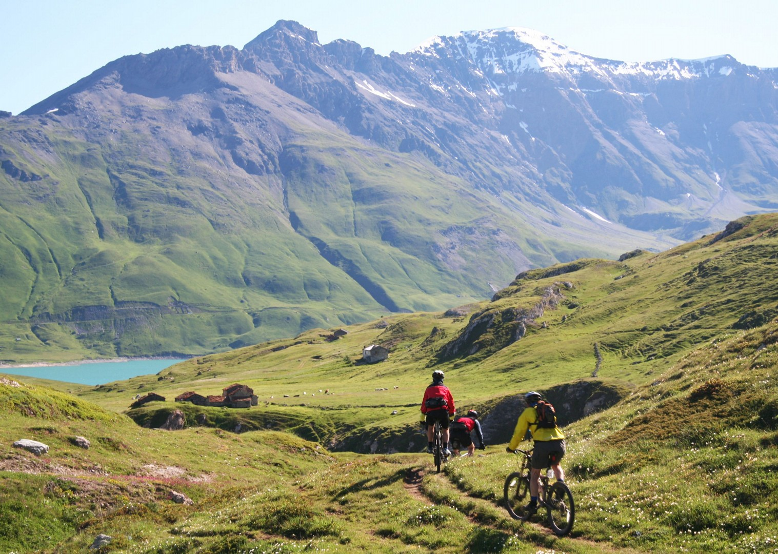 alps-mountain-bike-holiday-in-the-alps-alpine-adventure.JPG - Italy and France - Alpine Adventure - Guided Mountain Bike Holiday - Mountain Biking