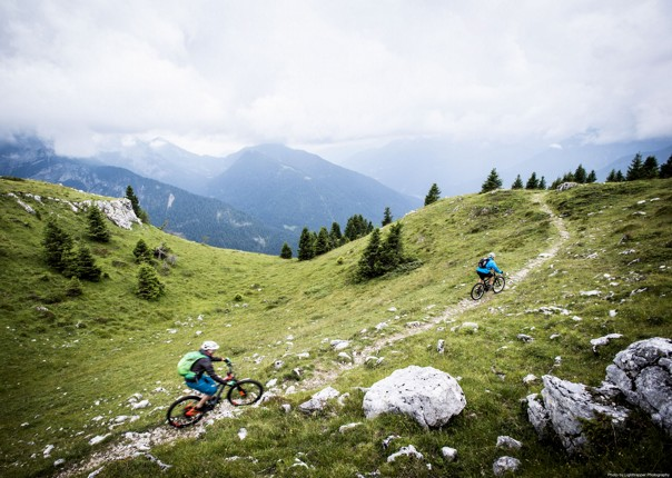 Italy and France - Alpine Adventure - Guided Mountain Bike Holiday Image