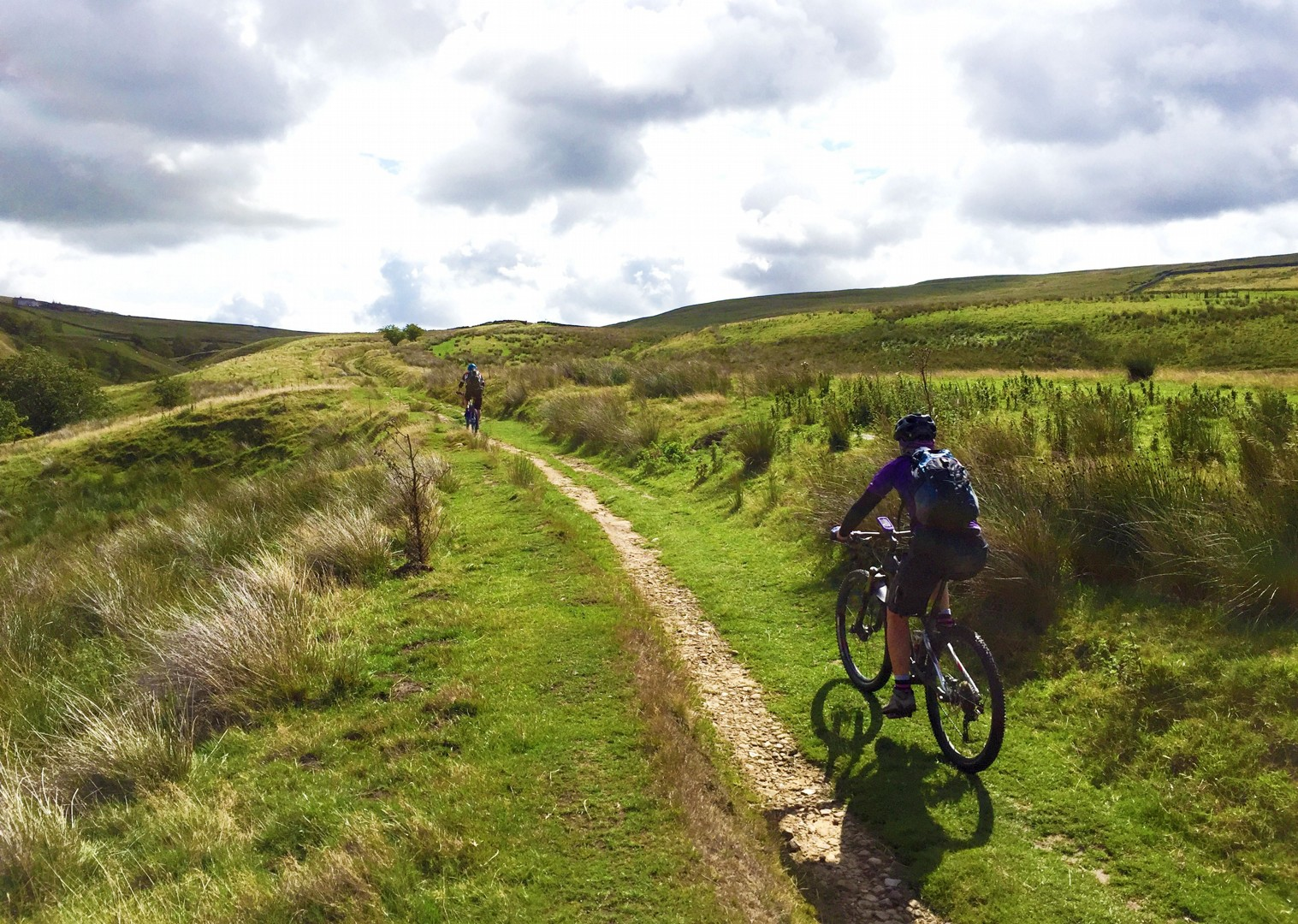 remote-moorland-singletrack-mtb-mountain-biking-pennine-bridleway.JPG - UK - Pennine Bridleway - Guided Mountain Bike Weekend - Mountain Biking
