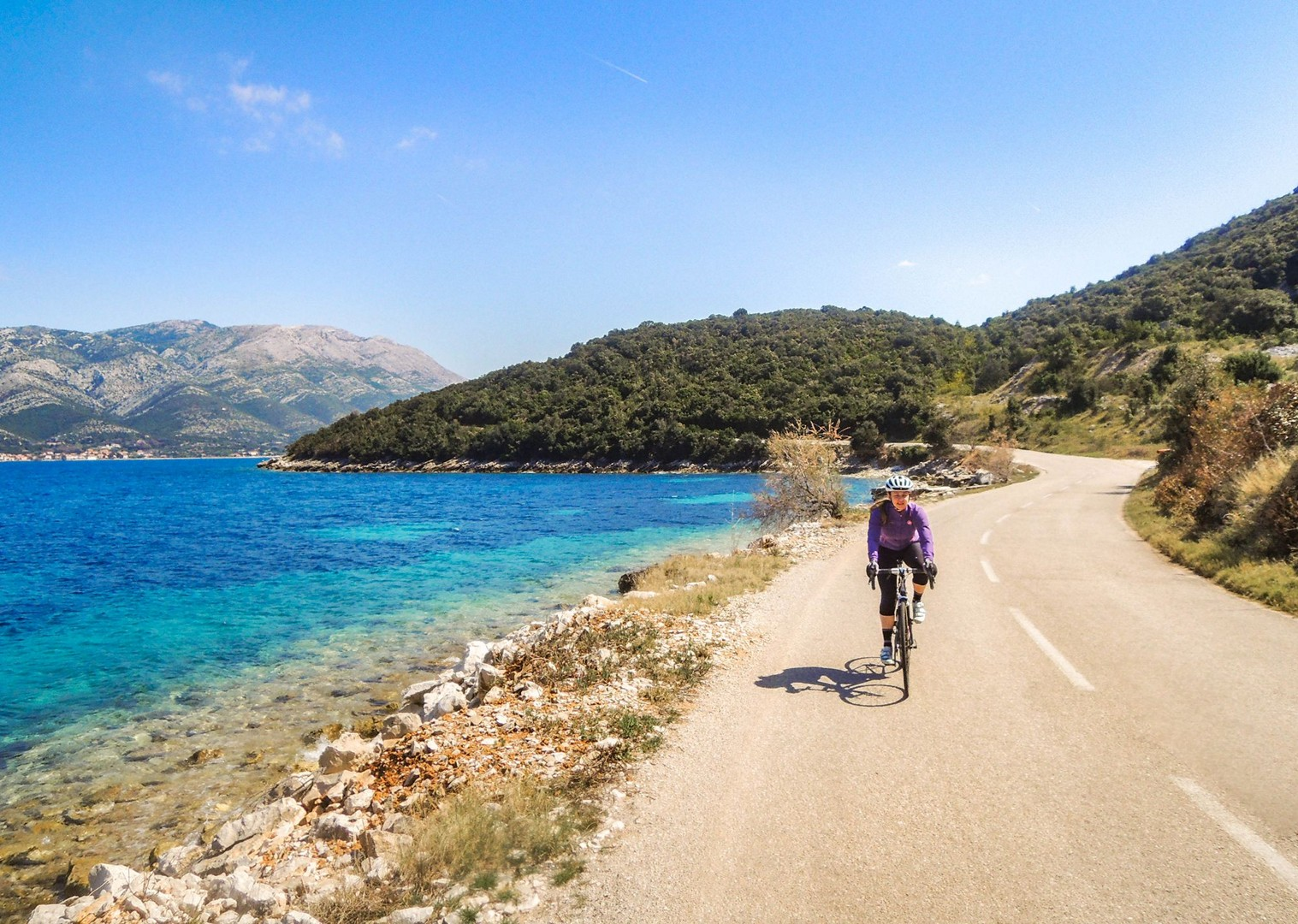 croatia-cycling-guided-road-tour-saddle-skedaddle-trip-sea.jpg - Croatia - Islands of the Dalmatian Coast - Guided Road Cycling Holiday - Road Cycling