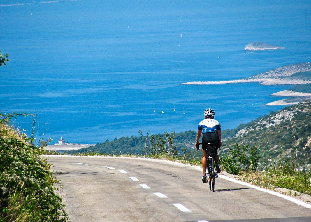 road-cycling-guided-holiday-croatia-islands-of-the-dalmatia.jpg - Croatia - Islands of the Dalmatian Coast - Guided Road Cycling Holiday - Road Cycling