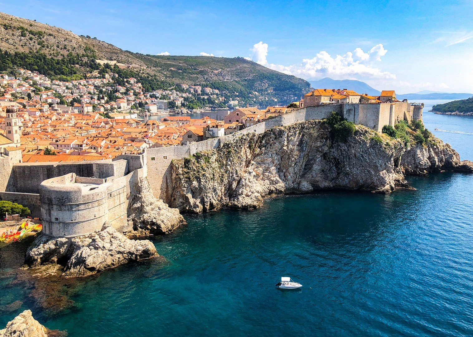 dubrovnik-guided-cycling-road-holiday-islands-of-dalmatian-coast.jpg - Croatia - Islands of the Dalmatian Coast - Guided Road Cycling Holiday - Road Cycling