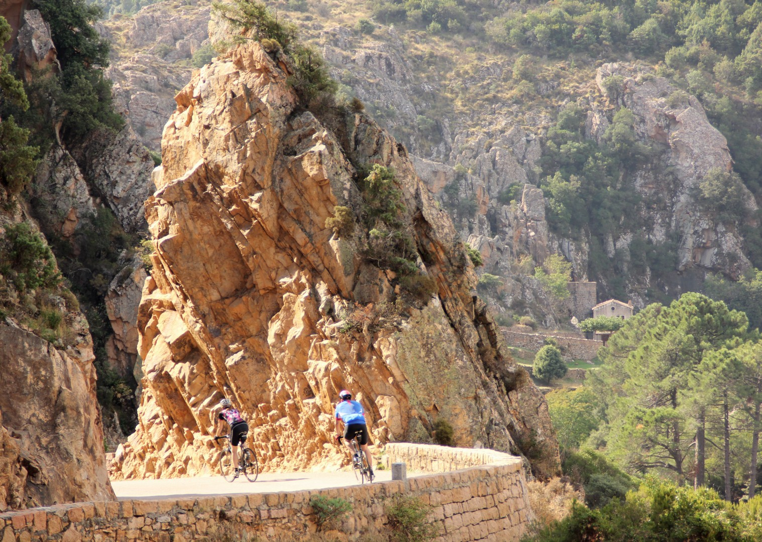 corsica-guided-road-cycling-holiday-the-beautiful-isle-mountain-riding.JPG - France - Corsica - The Beautiful Isle - Guided Road Cycling Holiday - Road Cycling