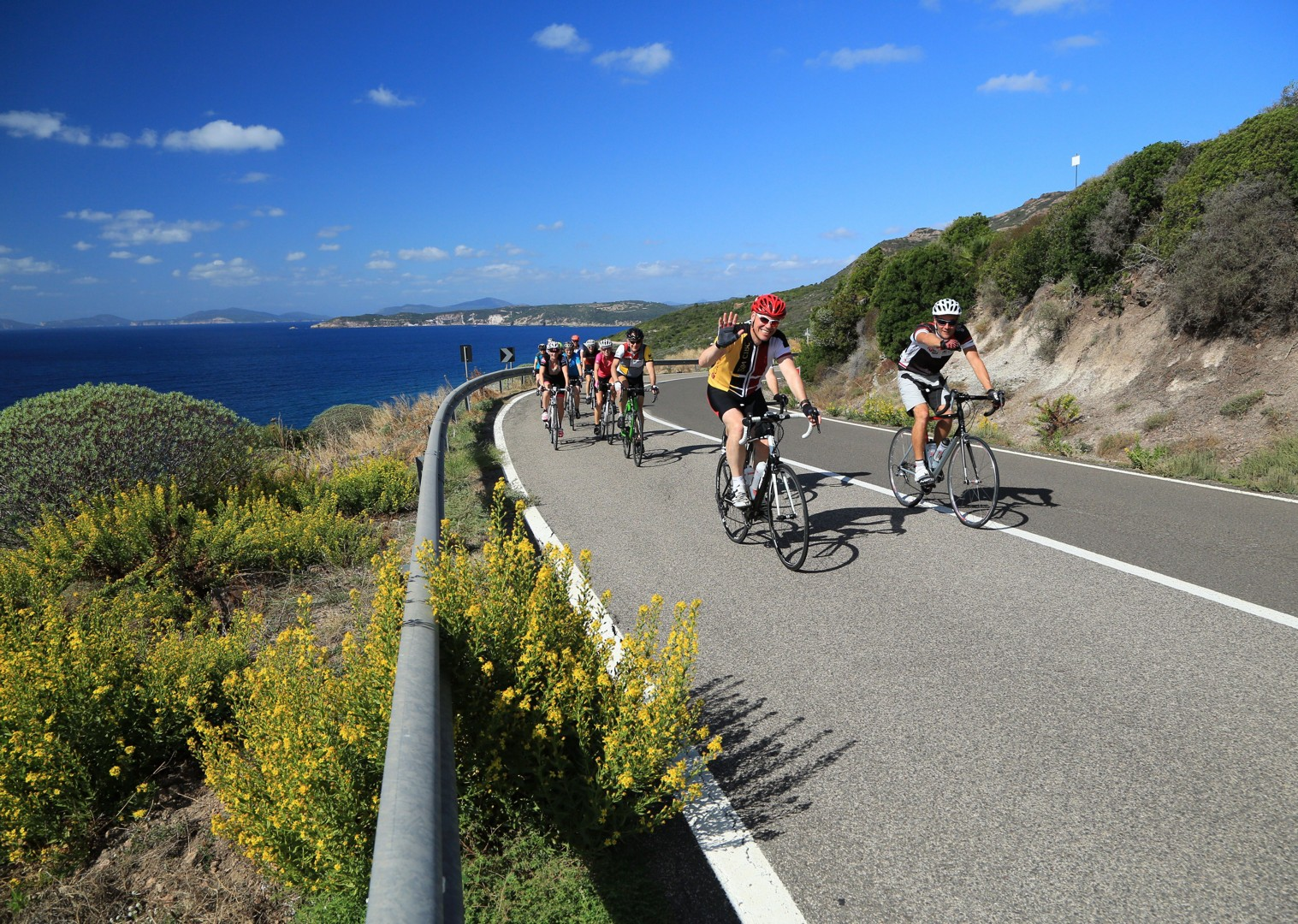 Guided-Road-Cycling-Holiday-Coastal-Explorer-Sardinia.jpg - Italy - Sardinia - Coastal Explorer - Guided Road Cycling Holiday - Road Cycling