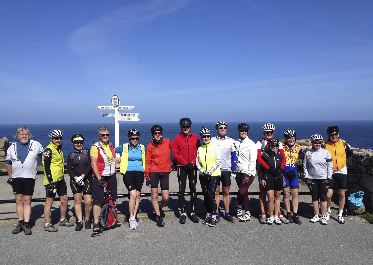LEJOG5.jpg - UK - Land's End to John O'Groats Classic (16 days) - Guided Road Cycling Holiday - Road Cycling