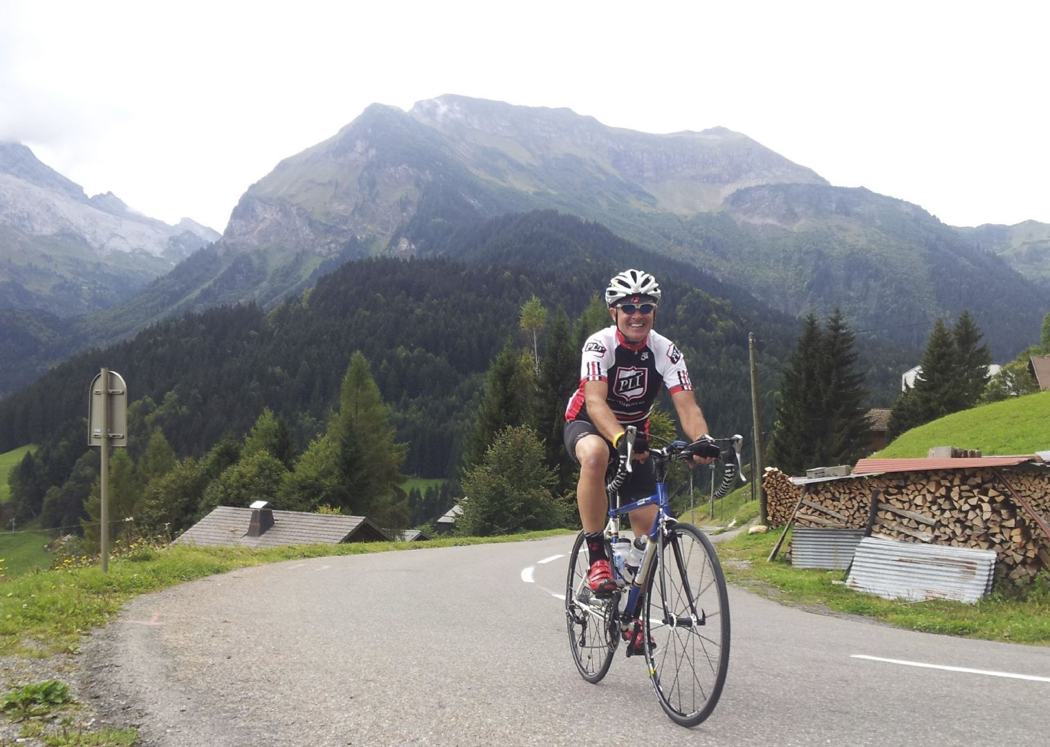 alpine intro 2.jpg - France - Classic Alps Passes - Alpine Introduction - Guided Road Cycling Holiday - Road Cycling