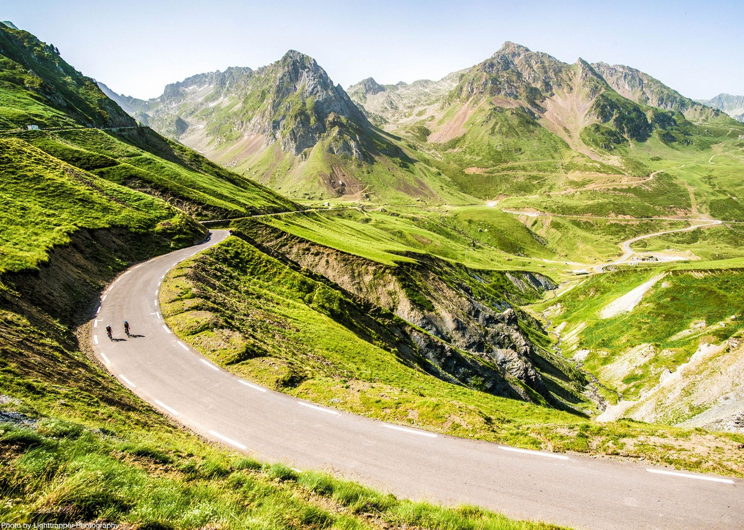road-cycling-through-pyrenees-mountain-range-trip-holiday.jpg - France - Trans Pyrenees Challenge - Guided Road Cycling Holiday - Road Cycling