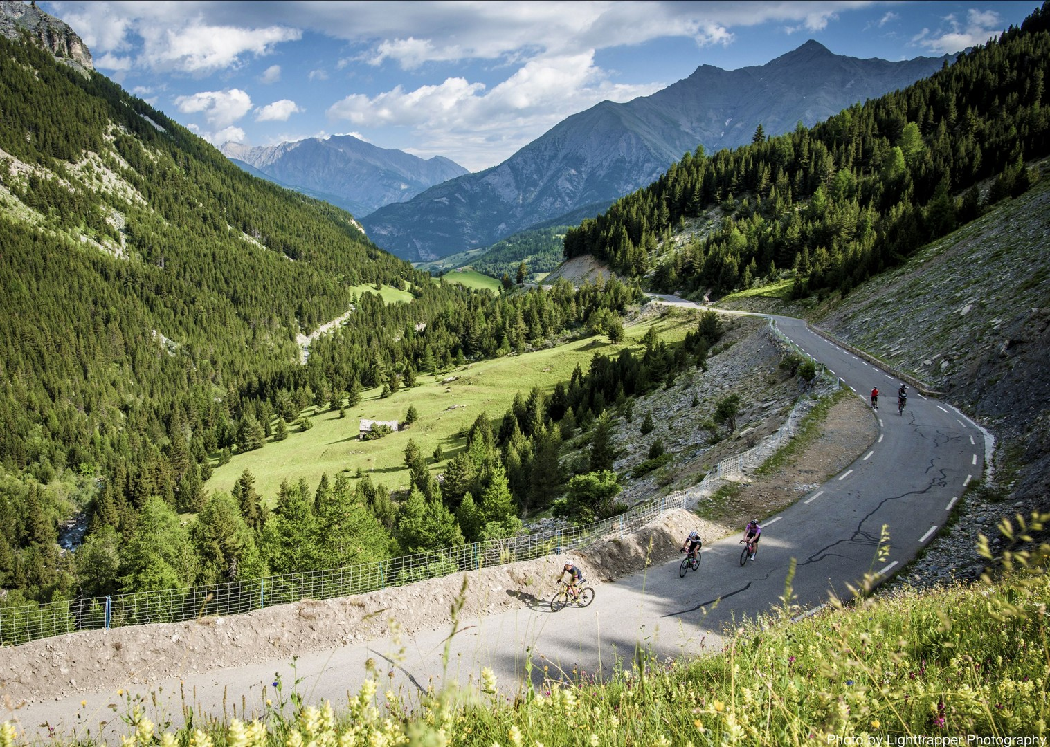 tall-mountains-open-road-france-raid-alpine-cycling-holiday.jpg - France - Raid Alpine - Guided Road Cycling Holiday - Road Cycling