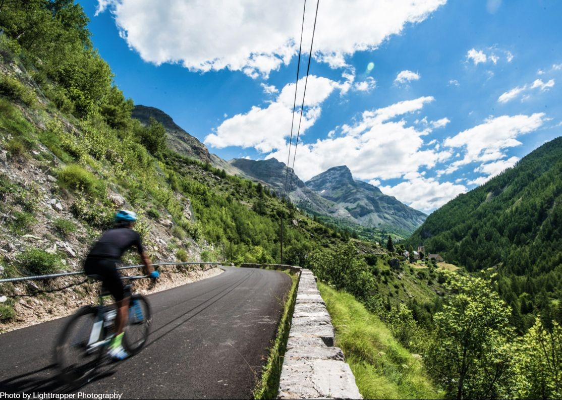 high-peaks-cliff-top-france-raid-alpine-road-cycling-holiday.jpg - France - Raid Alpine - Guided Road Cycling Holiday - Road Cycling