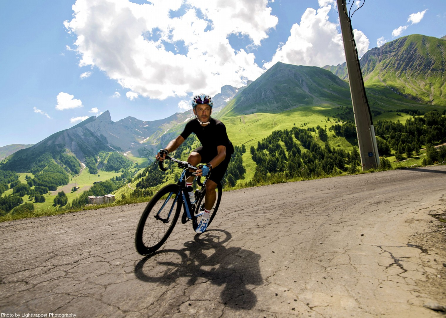 open-road-scenic-france-raid-alpine-cycling-holiday.jpg - France - Raid Alpine - Guided Road Cycling Holiday - Road Cycling