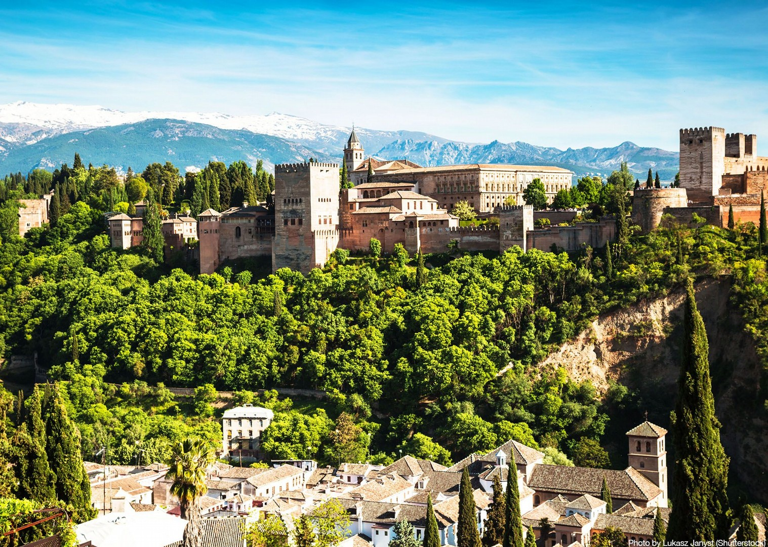 alhmabra-granada-to-seville-guided-leisure-cycling-holiday-in-spain.jpg - Southern Spain - Sierra Nevada and Granada - Guided Road Cycling Holiday - Road Cycling